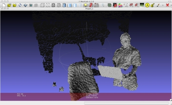 OSX Kinect Application - 3D Print Makers